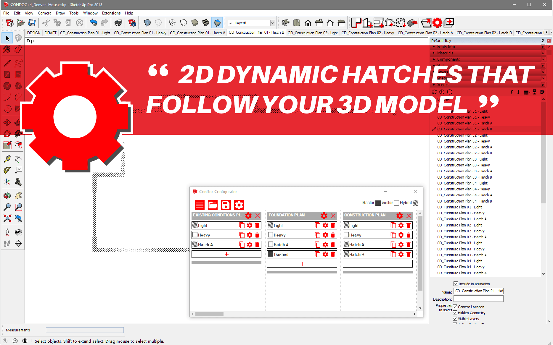 SketchUp Extension - ConDoc Tools